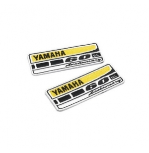 BADGES A BRODER YAMAHA 60TH X2