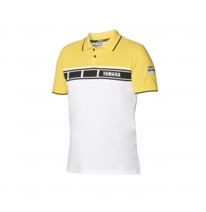 POLO YAMAHA 60TH HOMME BLANC