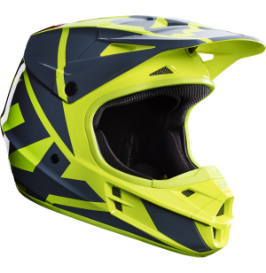 CASQUE FOX V1 RACE 2017 JAUNE
