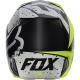 CASQUE FOX V2 NIRV 2017 JAUNE