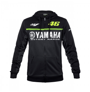 SWEAT YAMAHA VR46 NOIR 2017