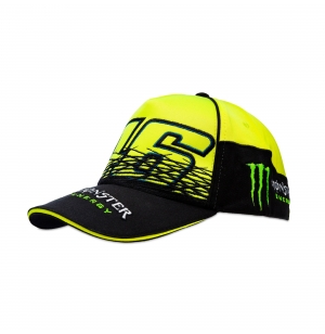 CASQUETTE MONSTER REPLICA JAUNE VR46