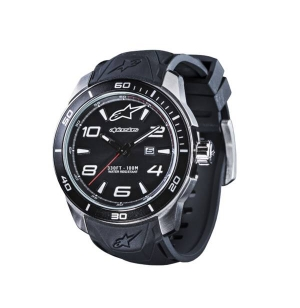MONTRE ALPINESTARS TECH 3H SILICON STRAP NOIR