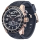MONTRE ALPINESTARS WATCH CHRONO 2TONES NOIR