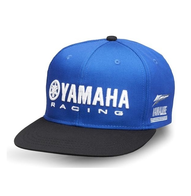 achat casquette yamaha paddock bleu 2018 adultes saga planet racing fr yamaha rouen rd. Black Bedroom Furniture Sets. Home Design Ideas
