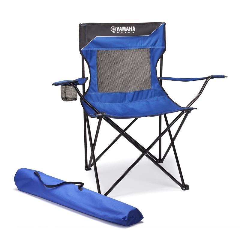 achat chaise pliante yamaha race bleu yamaha planet racingfr. Black Bedroom Furniture Sets. Home Design Ideas