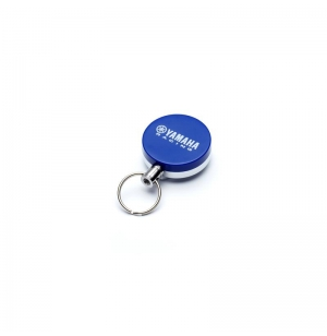 PORTE CLEF YAMAHA RACE BLEU RETRACTABLE