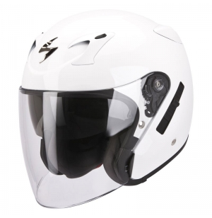 CASQUE SCORPION EXO220 BLANC