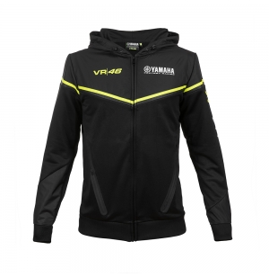 SWEAT YAMAHA VR46 NOIR 2018