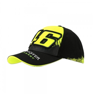 CASQUETTE VR46 REPLICA MONSTER NOIR 2018