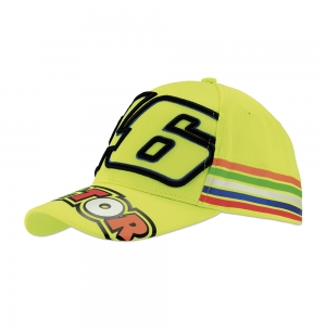 CASQUETTE VR46 STRIPES ADULTES 2018