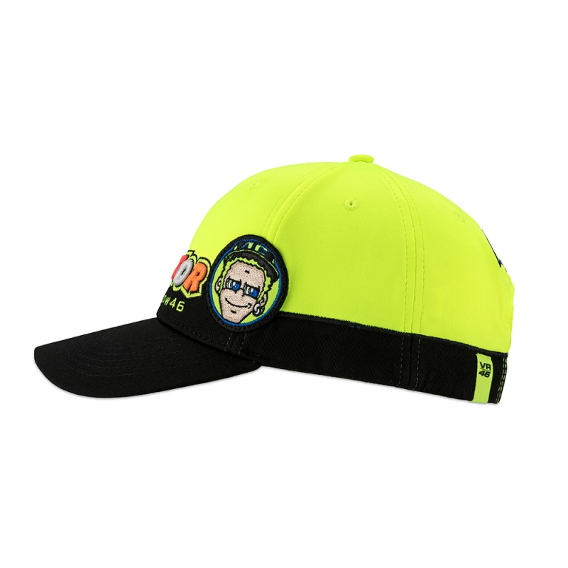 achat casquette vr46 cupolino adultes 2018 vr46 planet racingfr. Black Bedroom Furniture Sets. Home Design Ideas