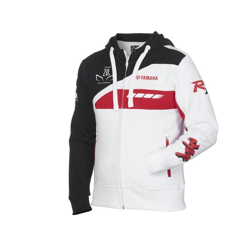 Yamaha Moto Sweat à Capuche Sportif Veste Complet Fermeture Éclair Manteau Automne Pull Tops *
