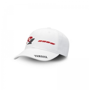CASQUETTE YAMAHA BLANCHE/ROUGE 20TH R1 2018 EDITION LIMITEE planet-racing.fr