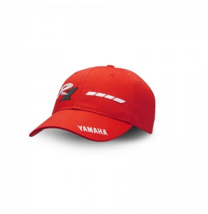 CASQUETTE YAMAHA ROUGE 20TH R1 2018 EDITION LIMITEE planet-racing.fr