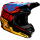 CASQUE FOX V1 CZAR NOIR/JAUNE 2019 planet-racing.fr