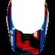 CASQUE FOX V1 CZAR NOIR/JAUNE 2019 planet-racing.fr