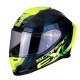 CASQUE SCORPION EXO-R1 AIR OGI NOIR/FLUO planet-racing.fr