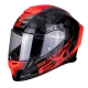 CASQUE EXO-R1 AIR OGI NOIR/ROUGE planet-racing.fr