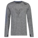 T-SHIRT HYPERNAKED HOMME 19 MANCHES LONGUES GRIS planet-racing.fr