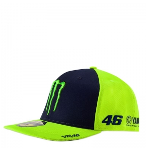 CASQUETTE VR46 2019 JAUNE FLUO planet-racing.fr