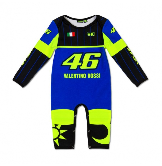 PYJAMA VR46 REPLICA BLEU 2019 PLANET-RACING.FR