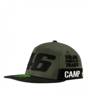 CASQUETTE MONSTER VR46 GREEN ARMY 2019 planet-racing.fr