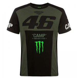 TSHIRT VR46 MONSTER GREEN ARMY 2019 planet-racing.fr