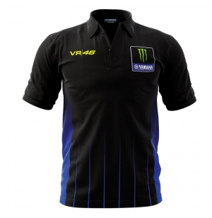 POLO YAMAHA VR46 2019 NOIR planet-racing.fr