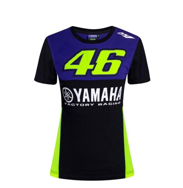 TSHIRT YAMAHA RACING VR46 FEMME 2019 planet-racing.fr