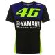TSHIRT YAMAHA RACING VR46 2019  planet-racing.fr