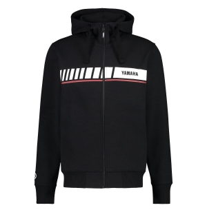 SWEAT YAMAHA REVS ZIPPE HOODY NOIR HOMME 2019 planet-racing.fr