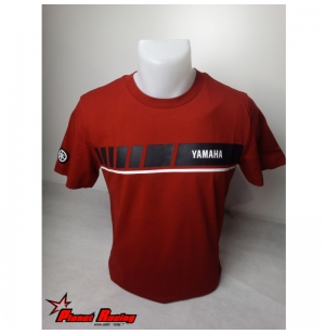 T-SHIRT YAMAHA REVS ROUGE HOMME 2019 planet-racing.fr