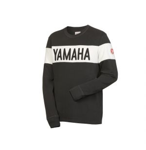 SWEAT YAMAHA FASTER SONS ALAMO NOIR planet-racing.fr