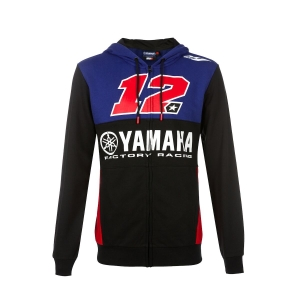 SWEAT CAPUCHE YAMAHA MV12 HOMME 2019 planet-racing.fr
