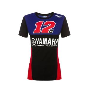 TSHIRT YAMAHA FEMME MV12 2019 planet-racing.fr