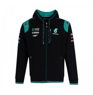 SWEAT CAPUCHE YAMAHA PETRONAS 2019 planet-racing.fr