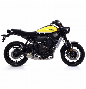 SILENCIEUX ARROW JET RACE EMBOUT CARBONE YAMAHA MT07 / TRACER 700