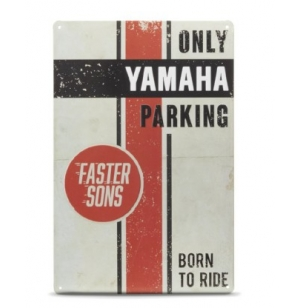 PLAQUE VINTAGE YAMAHA FASTER SONS