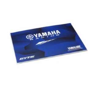 PROTECTION ORDINATEUR YAMAHA RACING BLEUE