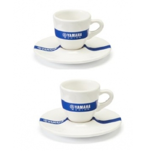 SET DE 2 TASSES ESPRESSO YAMAHA RACING