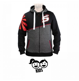 SWEAT ZIPPE ZARCO Z5 ASYM ENFANT