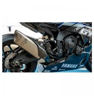 2016/arri/ère support Pick Up de crochets Couleur Noir Moto Yamaha Yzf-r1/MT-10/2015