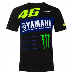 T-SHIRT MONSTER VR46 YAMAHA HOMME 2020