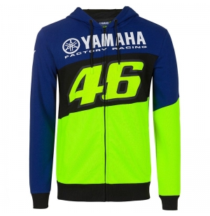 SWEAT BLEU YAMAHA RACING VR46 2020