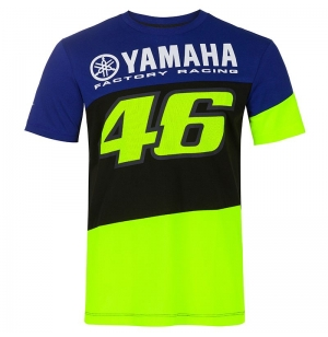 T-SHIRT BLEU YAMAHA RACING VR46 2020