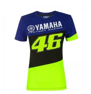 T-SHIRT BLEU YAMAHA RACING VR46 2020 FEMME