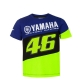 T-SHIRT BLEU YAMAHA RACING VR46 2020 ENFANT