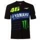 POLO MONSTER VR46 YAMAHA 2020 HOMME