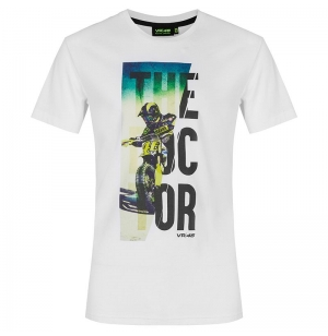 T-SHIRT VR46 THE DOCTOR BLANC 2020